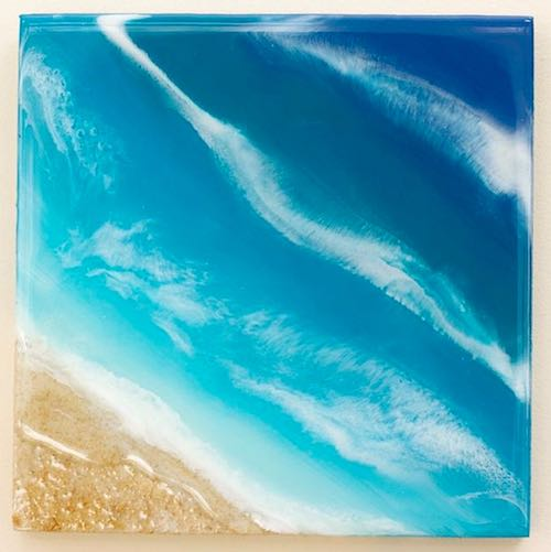 """Ocean & Beach"" Resin Art"