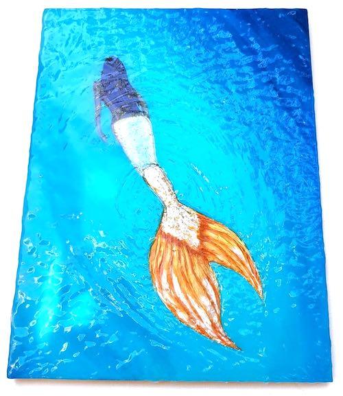 artist: Eleonora - mermaid in resin