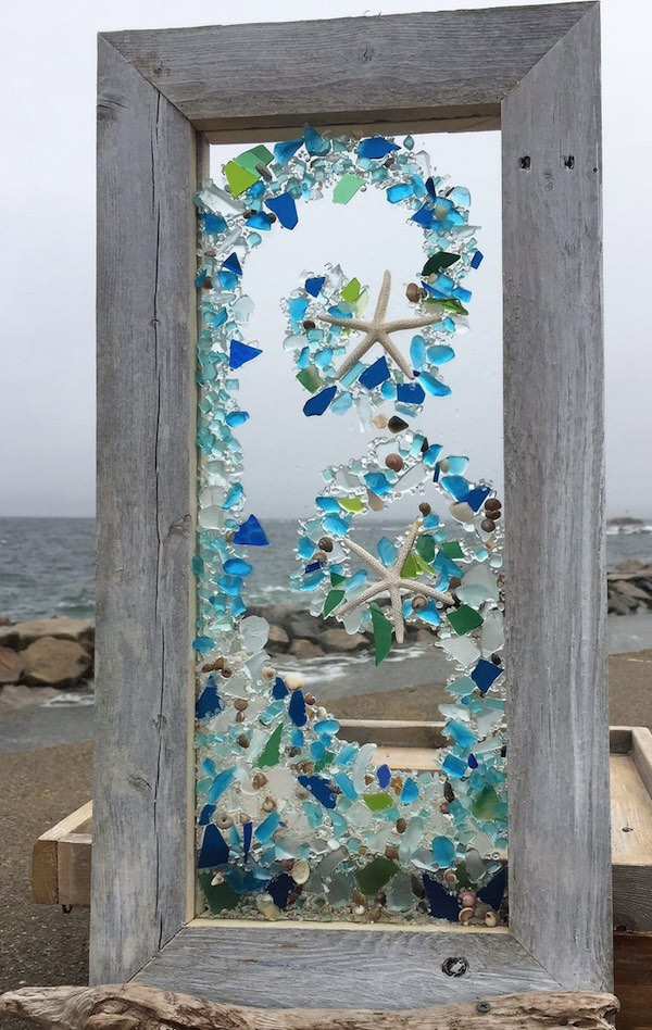 Beach Glass Wave
