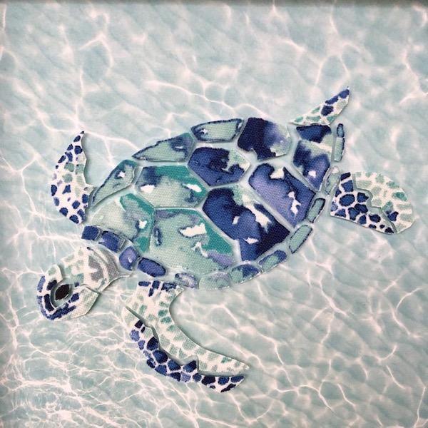 Sea Turtle Mosaic