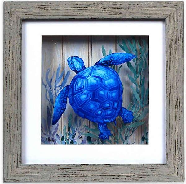 Turtle Shadow Box