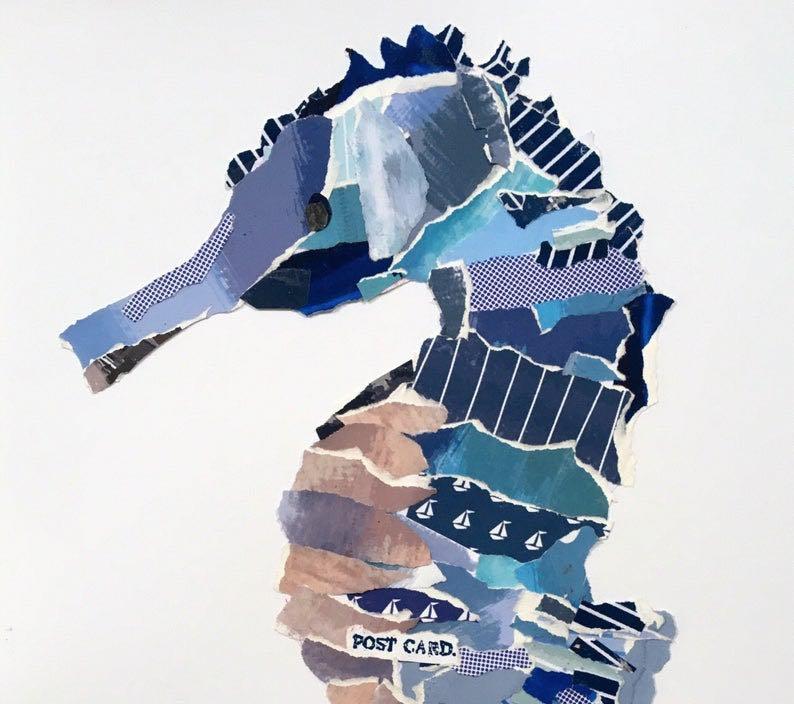 Seahorse Collage