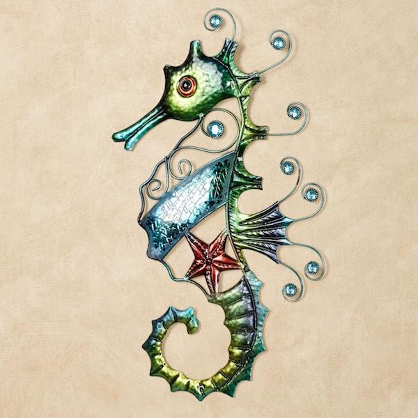 Mosaic Seahorse Art