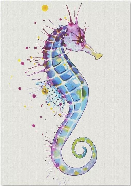 Seahorse Purple Natural