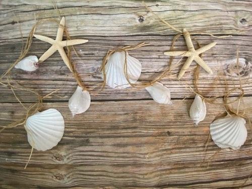 Coastal Wedding Garland by Alana