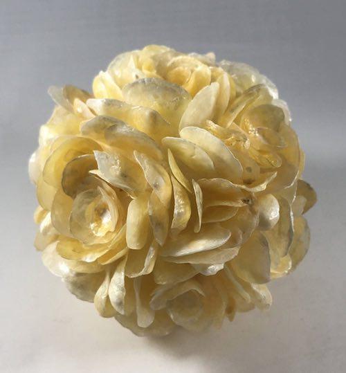 Seashell Flower Sphere by Carol Bell