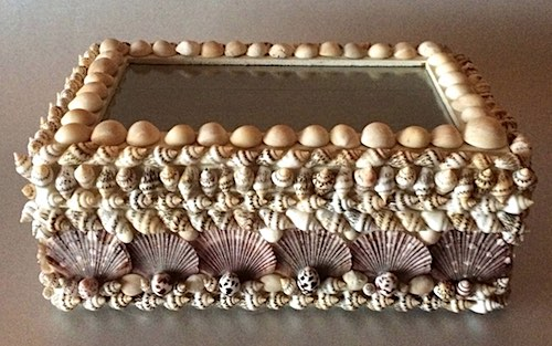 Shell Treasure Box by Janice Plihal