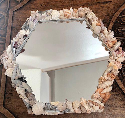 Shell Mirror by Megan