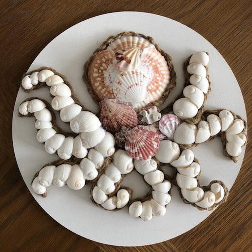 Seashell Octopus by Michele Geiger