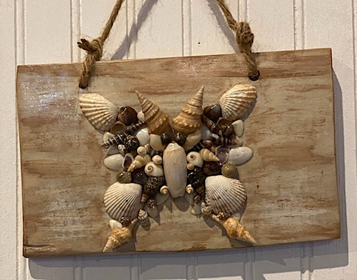 Seashell Butterfly by Peggie Herrin