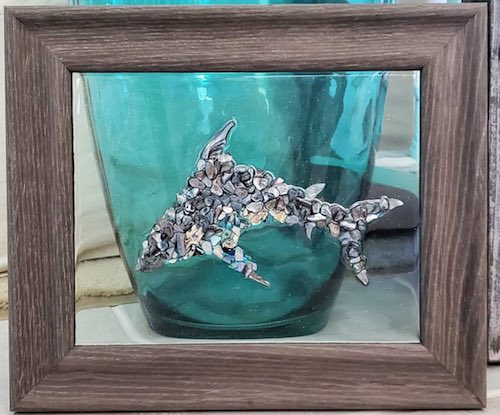 Abalone Dolphin by Sherri Ortega