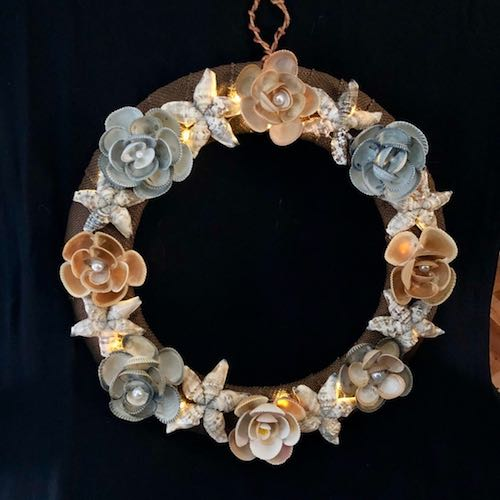 Shell Flowers and Stars by Sheryl