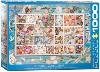 1000 Piece Seashell Puzzle