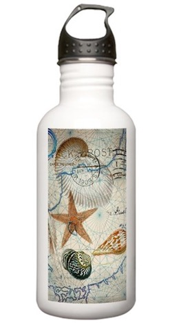 Coastal Starfish Stainless Steel Water Bottle