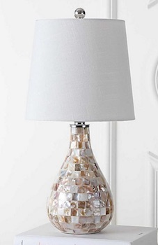 Mini Table Lamp in Seashell