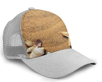 Sandy Beach Mesh Cap