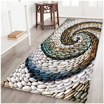 Seashell Beach Non-Slip Indoor Entrance Rug