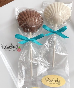 Seashell Chocolate Lollipop