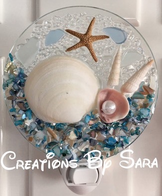 Seashell Beach Night Light