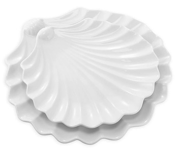 Seashell Serving Dishes
