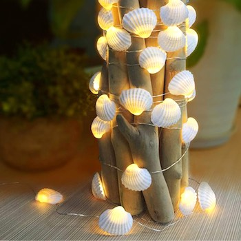 74. Seashell String Lights