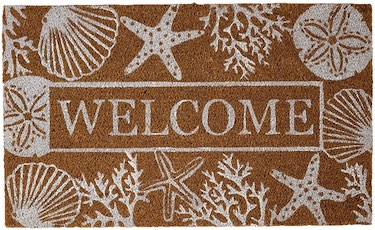Seashell Welcome Mat