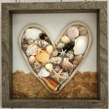 Sea Shells with Heart