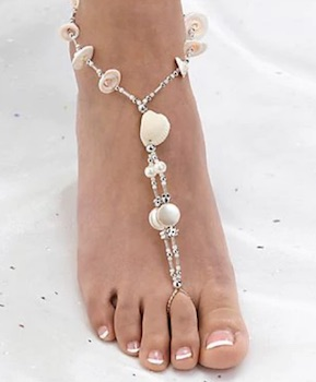 Seashell Foot Jewelry