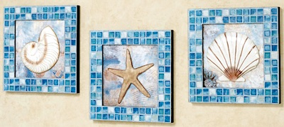 Shell Trio Mosaic