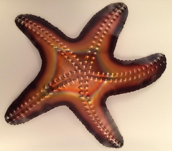 Copper Metal Starfish