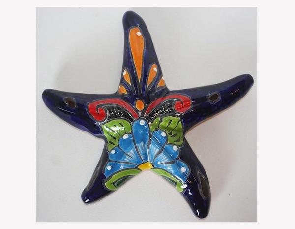 Mexican Talavera Ceramic Starfish