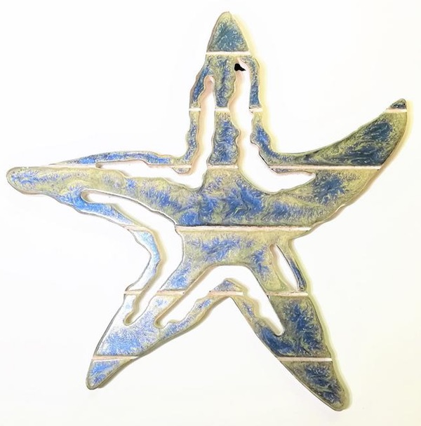 Nautical Nursery Wooden Starfish